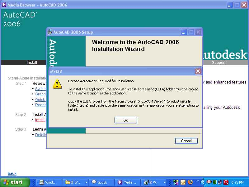how to install autocad 2006 with keygen