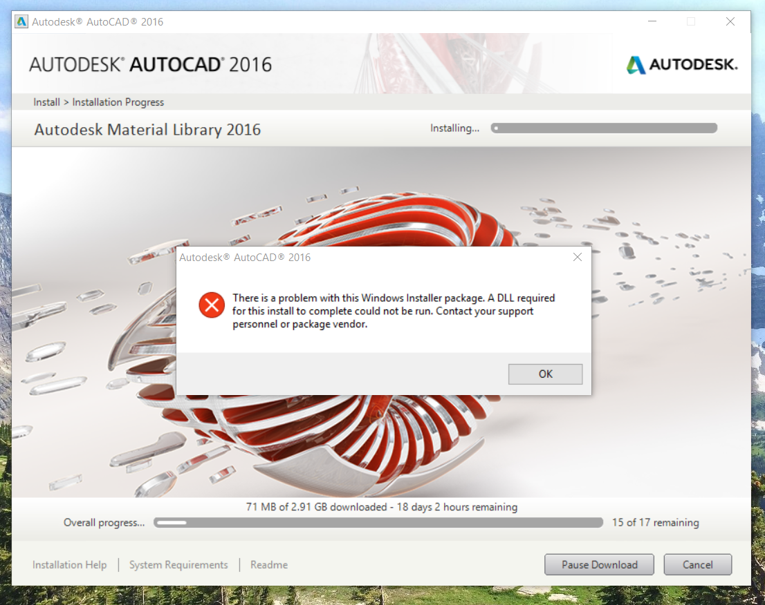 Autocad was used for rendering the remaining images - Autocad 2016 Installation Error A Dll Required For This Install Autodesk Community