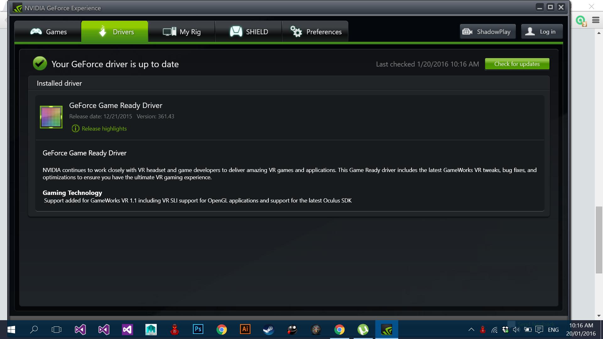 Скачать свежий драйвер для видеокарты nvidia