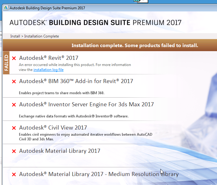 Solved  Can U0026 39 T Install Revit 2017