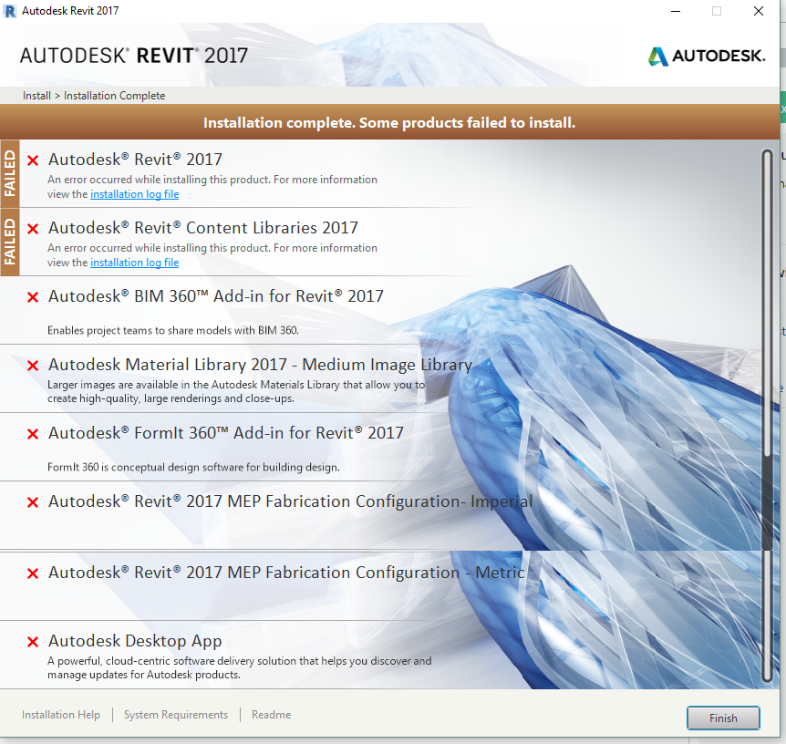 Some Products Failed To Install  Result 1619 Revit 2017  I U0026 39 Ve Tried Everything