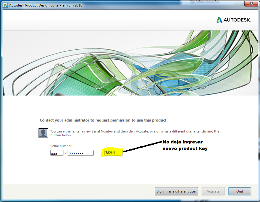 autocad inventor product key