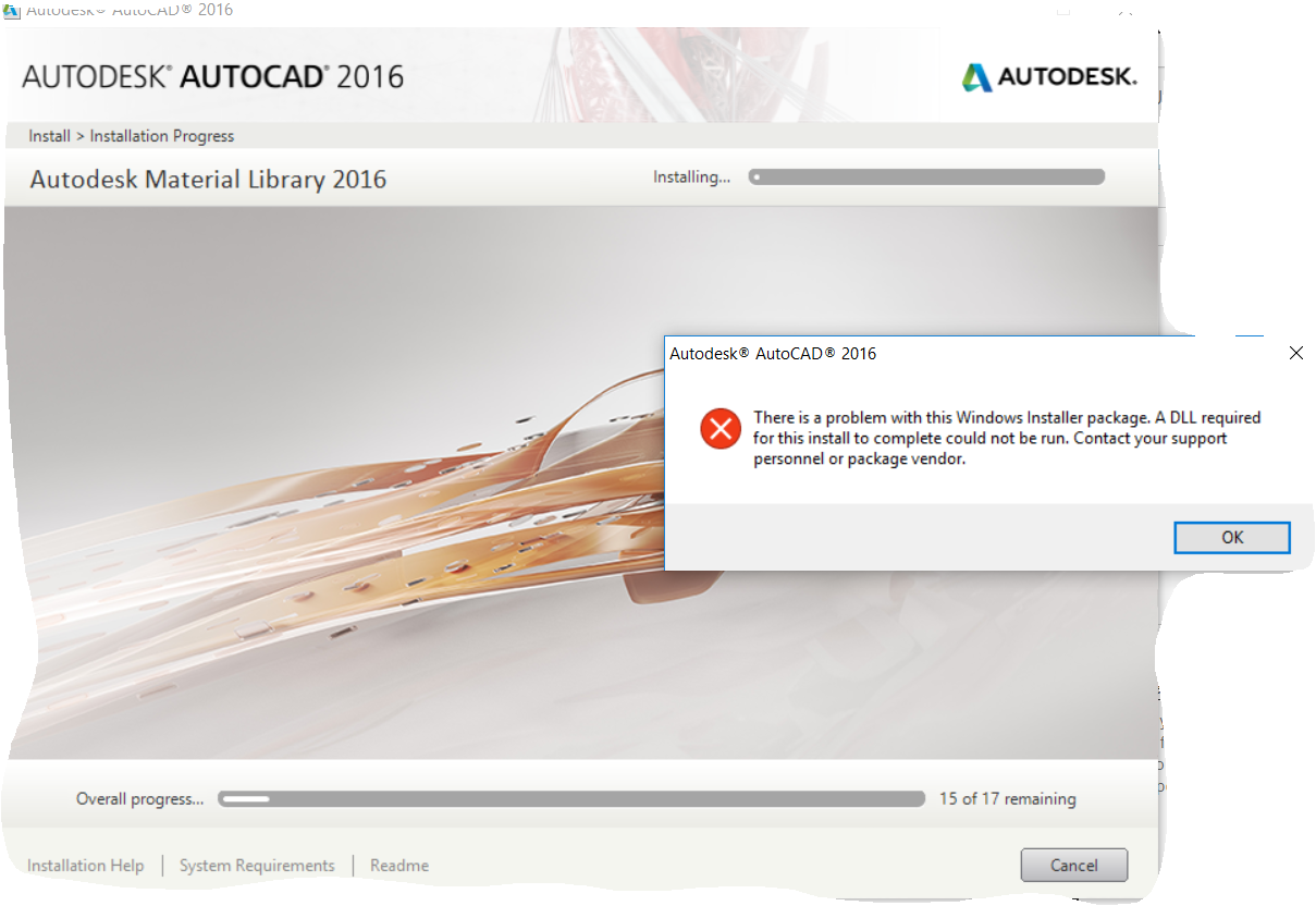 Autocad was used for rendering the remaining images - Solved Autocad 2016 There Is A Problem With The Windows Installer Package Autodesk Community