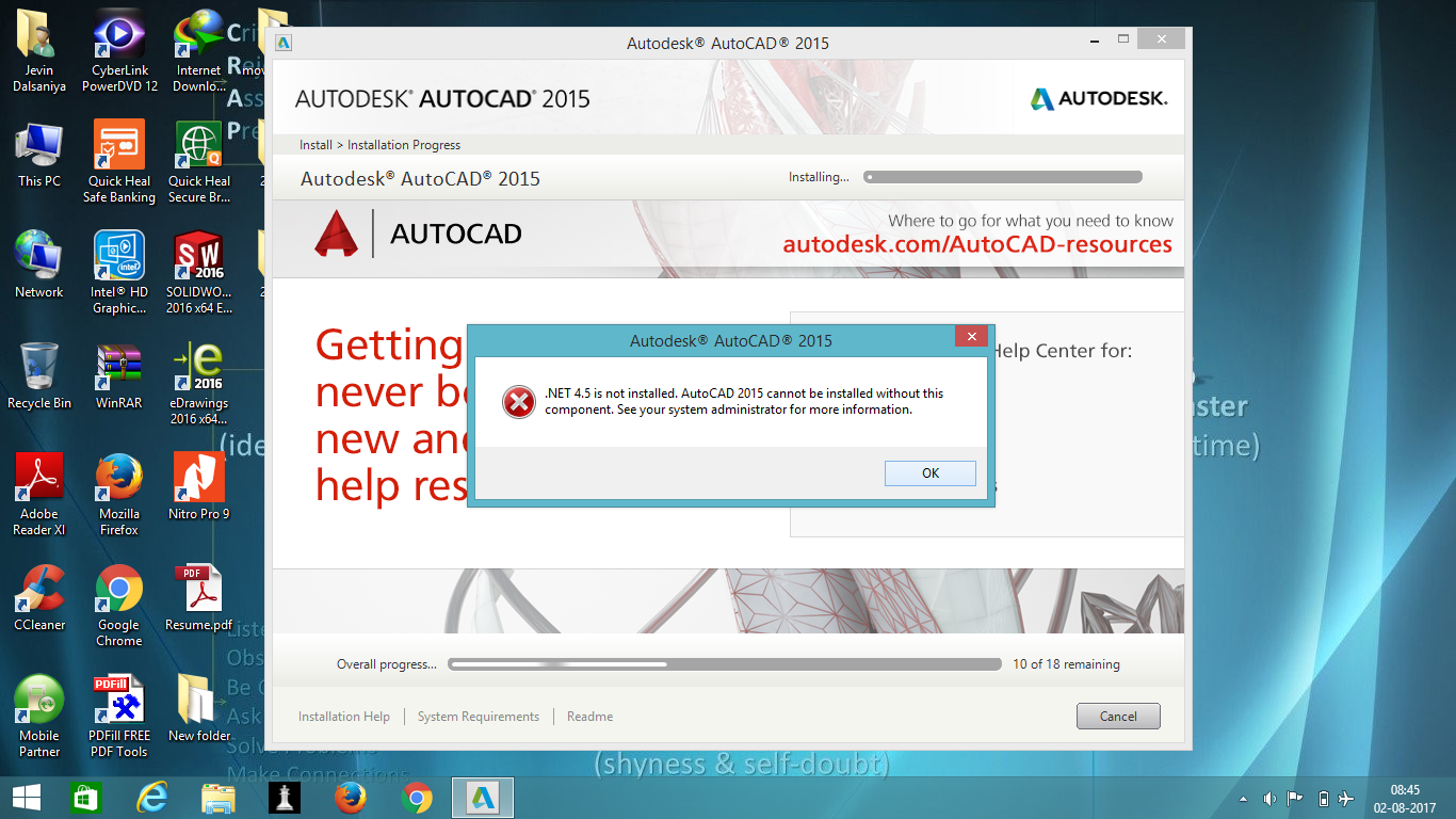 Autocad was used for rendering the remaining images -  Net 4 5 Error Problem Autodesk Community