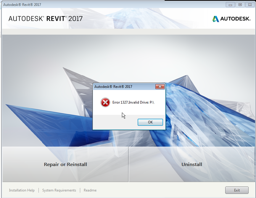 Solved  Repair Mode Revit 2017 Installation Fails