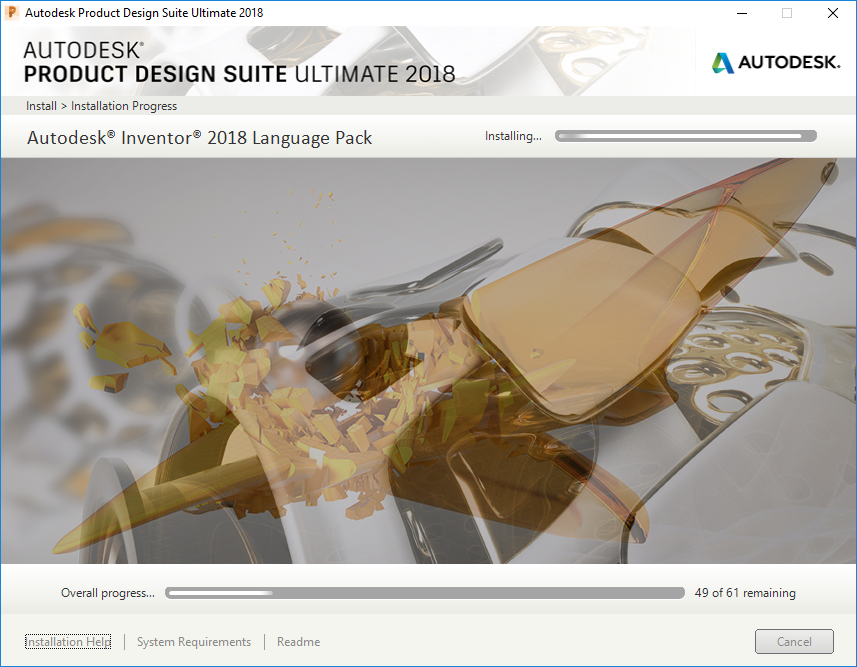 Solved  Inventor 2018 Install Hangs At Language Pack