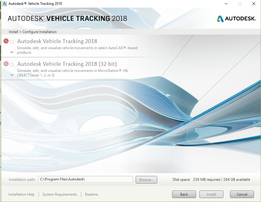 Solved: Unnable to install Autodesk Vehicle Tracking