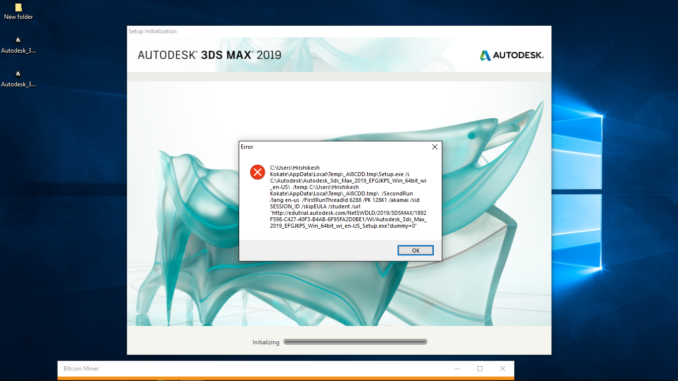 Solved: Unable to install 3DS Max 2019 - Autodesk Community