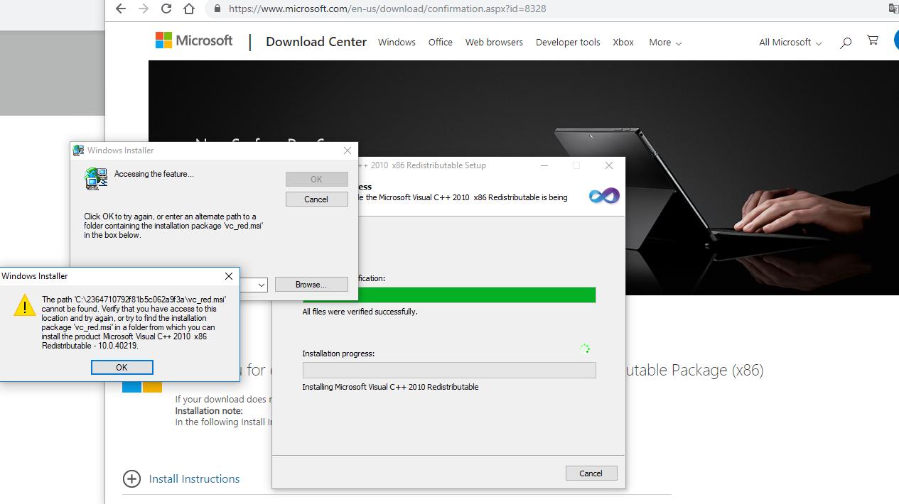 autocad installation failure on windows 10 - Autodesk Community