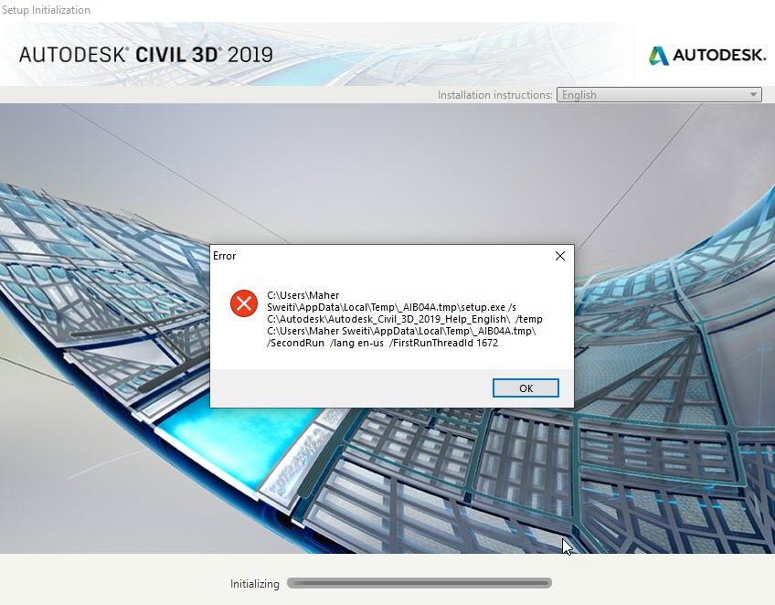 Error Installing Autocad Civil 3d Offline Help