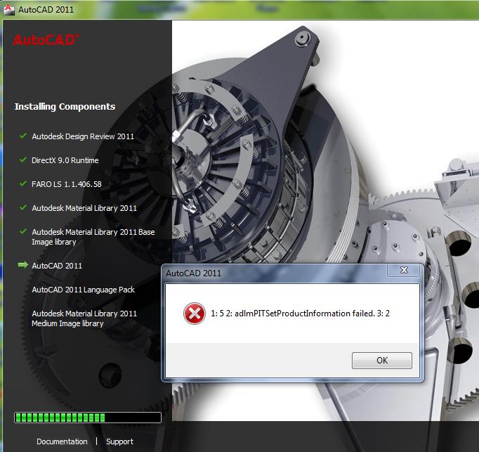 Solved  Autocad 2011 64 Bit Installation Problem