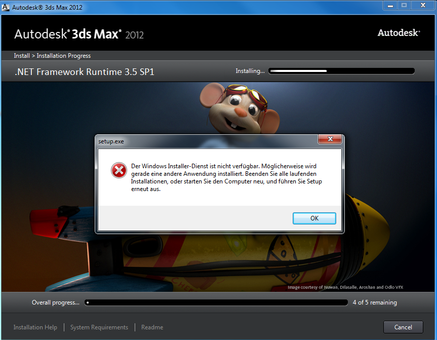 Re: 3ds Max .NET framwork problem.