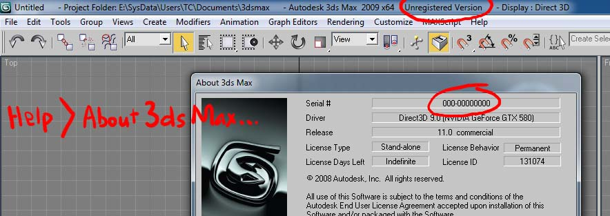 Solved: How to register 3ds Max 2009? - Autodesk Community