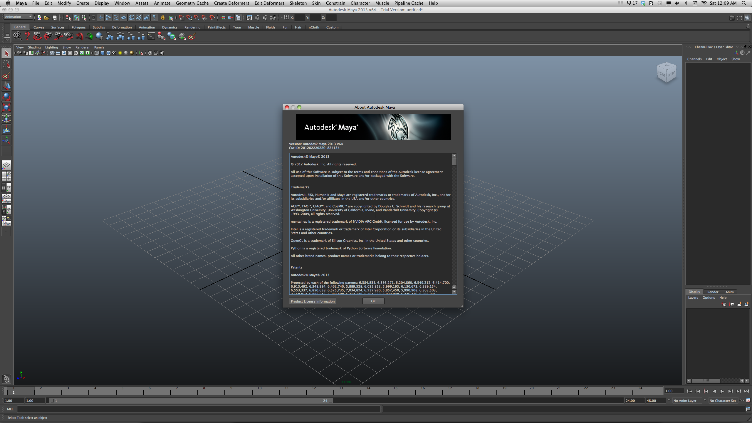 activation code for autodesk maya 2012