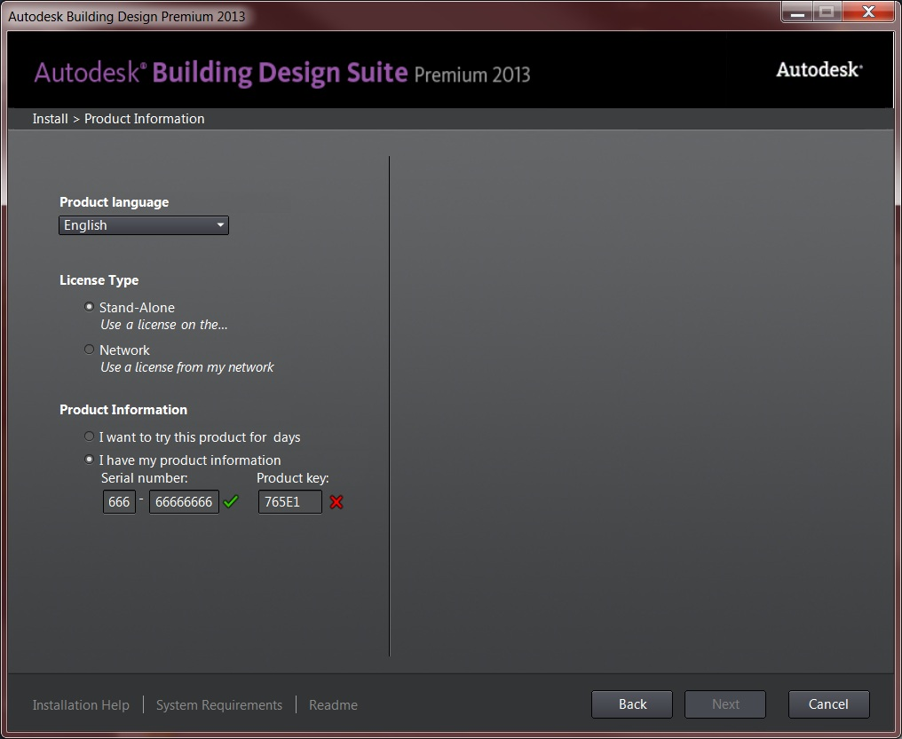 Solucionado: Revit Building Design Suite Premium 2013 Product Key Wrong -  Autodesk Community- Installation and Licensing