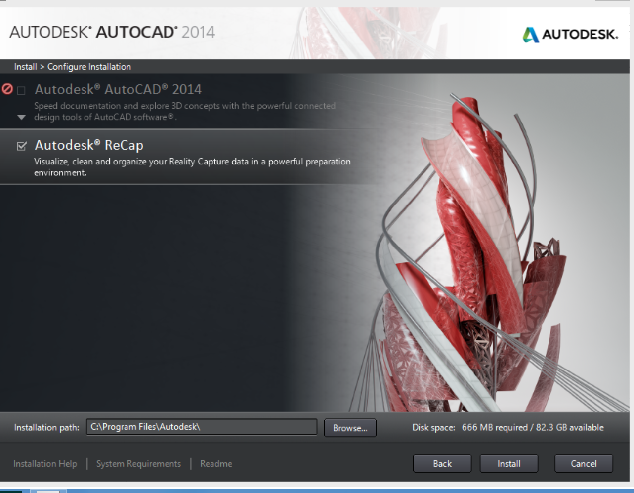 Autocad 2014 Not Available In  U0026 39 Configure Installation