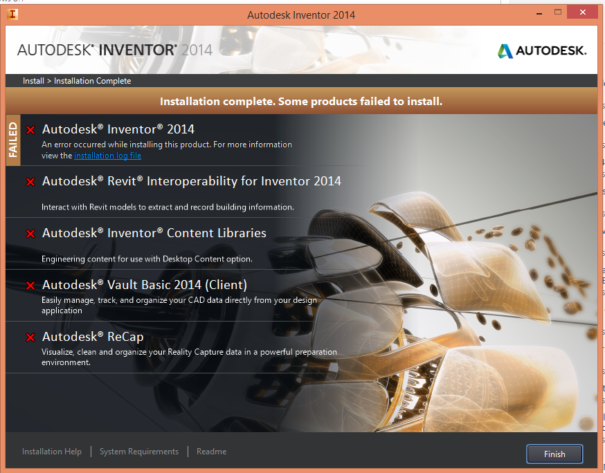 Solved  Inventor Pro 2014 Not Installing Windows 8 1