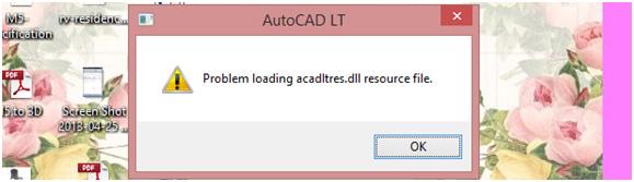 Error Installation Of Autocad Lt 2015