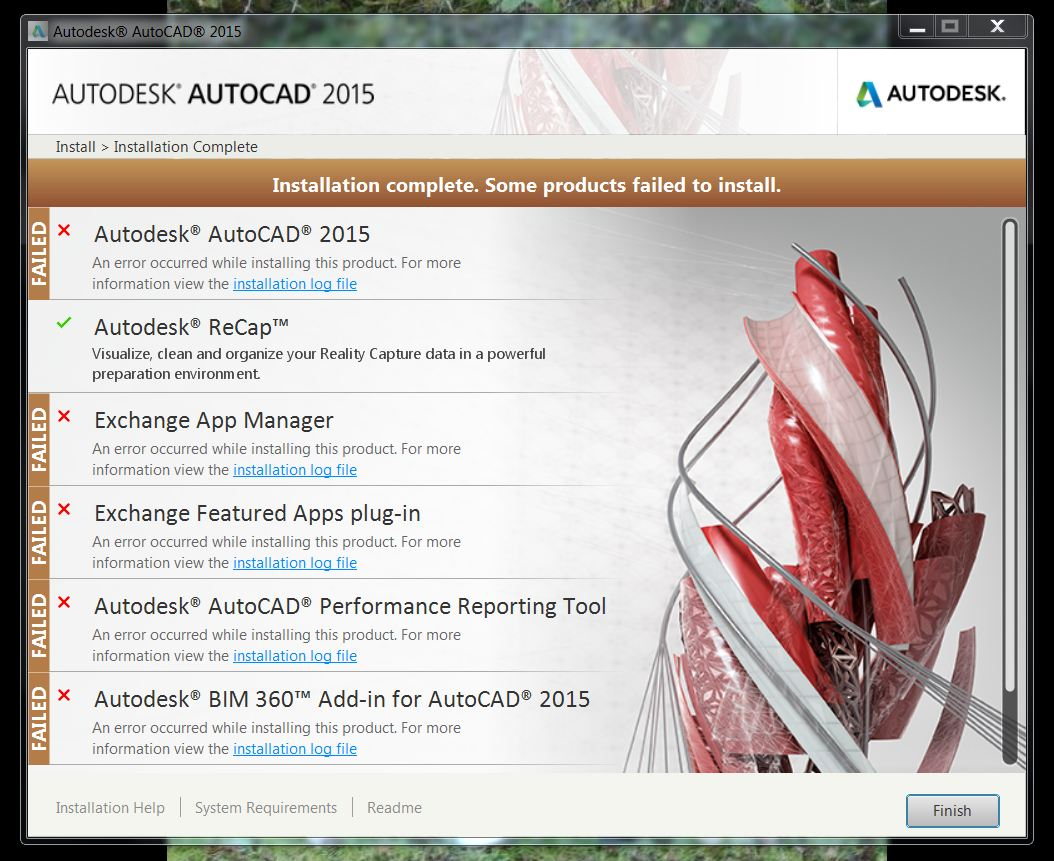 Autocad 2015 Crashes And Installation Problems
