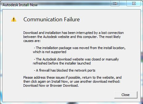 Solved: Download Failed, Installation aborted, Result=1603