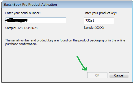 autodesk sketchbook pro 6 serial number and product key
