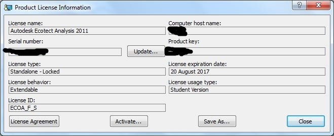 autodesk 2011 serial number and product key