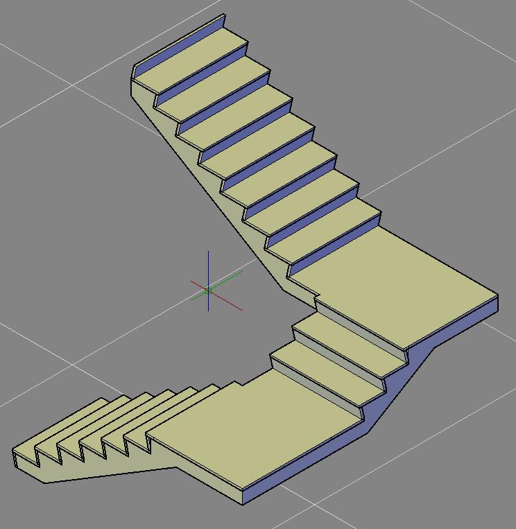 Solved Multi Landing Stair Autodesk Community Autocad Architecture