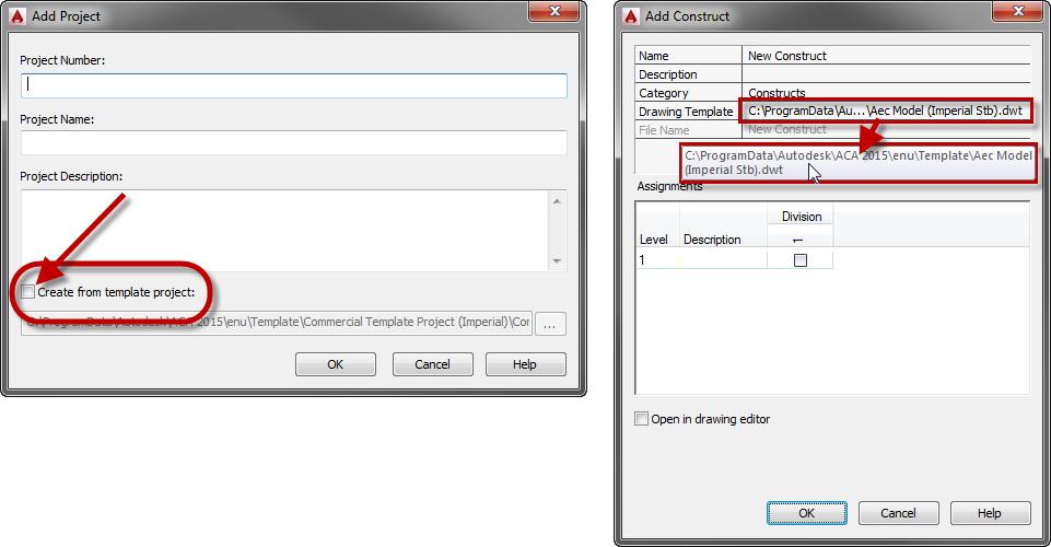 apj project template - Autodesk Community- AutoCAD Architecture