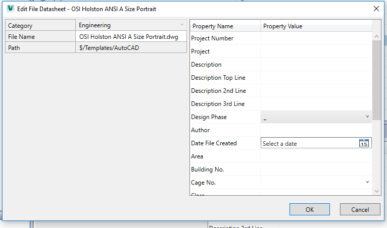 Solved: Prompts from Autocad does not match Data Standard