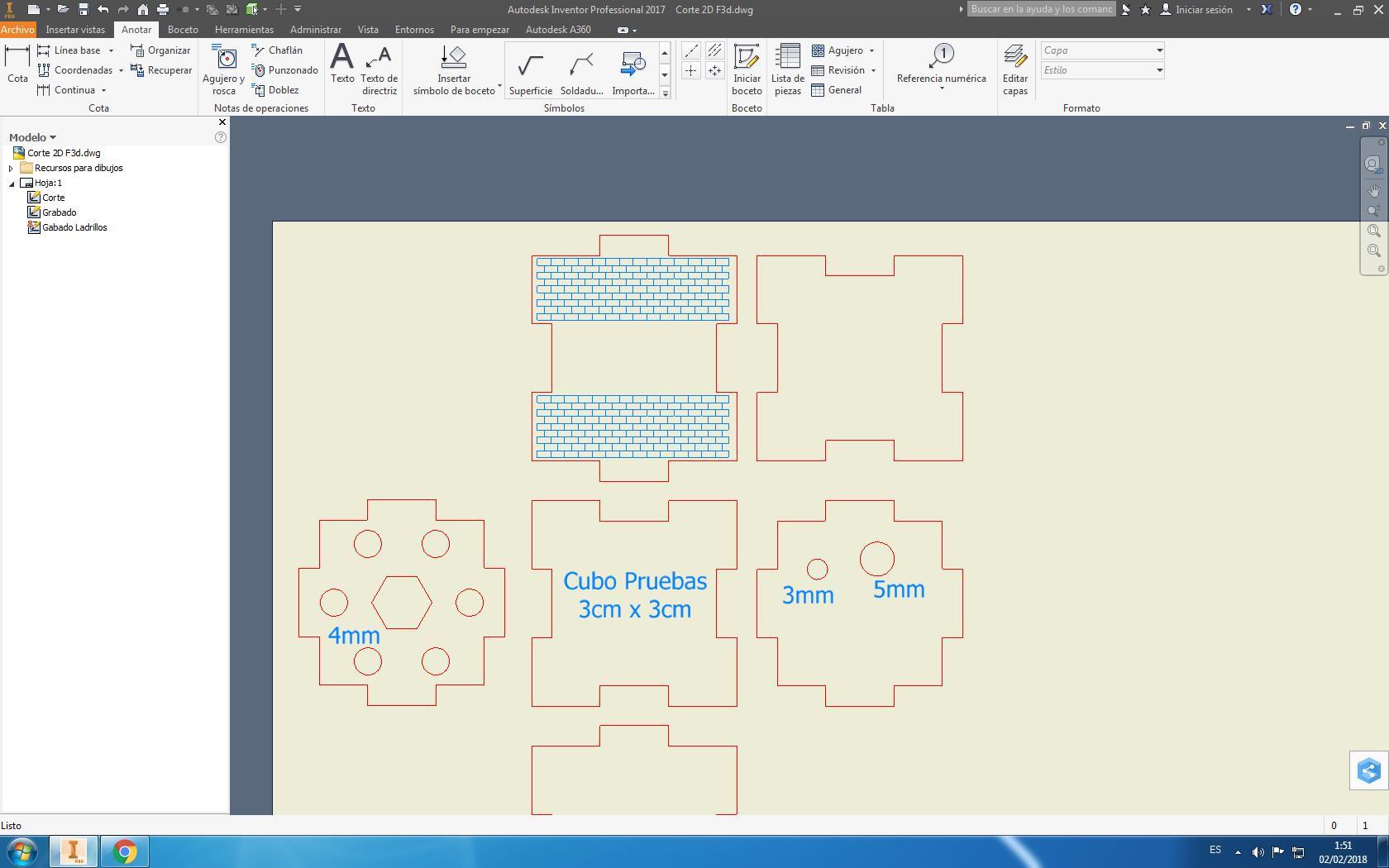 Solucionado: Inventor para corte laser - Autodesk Community ...