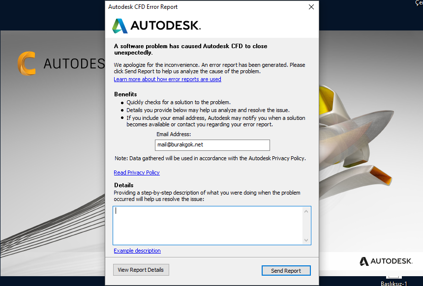 Solved: CFD 2019 Launch Problem - Autodesk Community- CFD