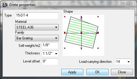 Grating Weight Calculation - Autodesk Community- AutoCAD Structural