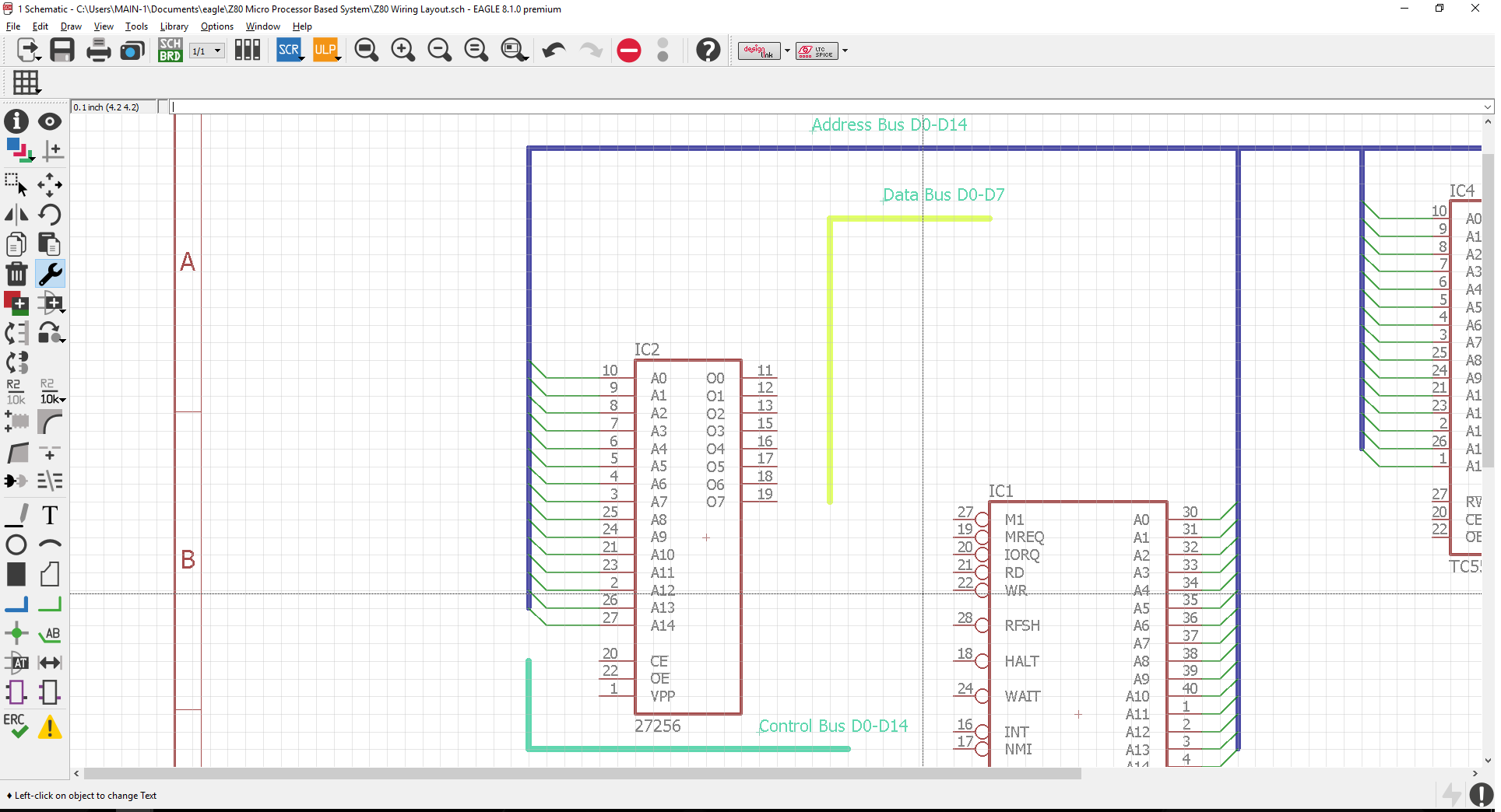 Create Different Coloured Bus Lines in Schematic Editor - Autodesk  Community- EAGLE