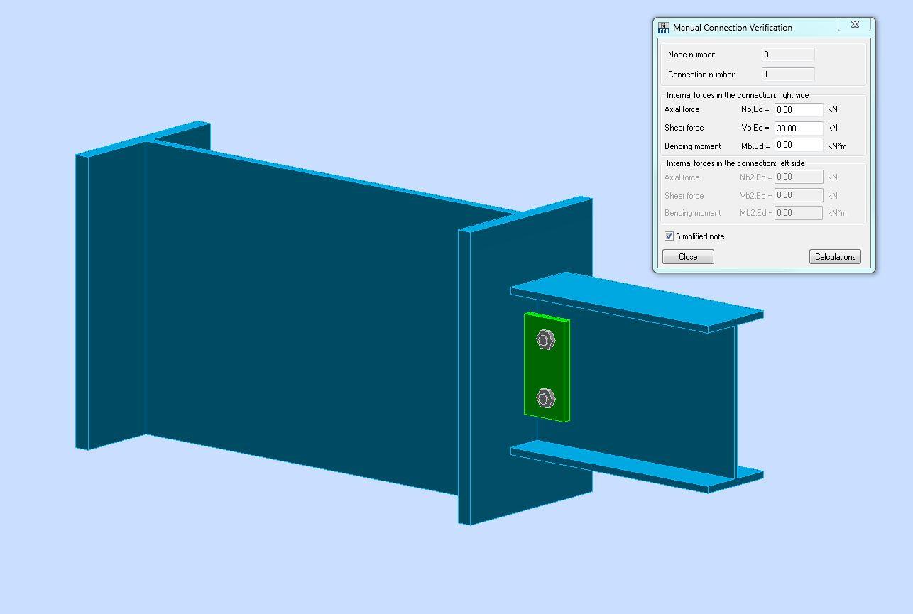 Solved: steel connection design: column-beam through welded steel