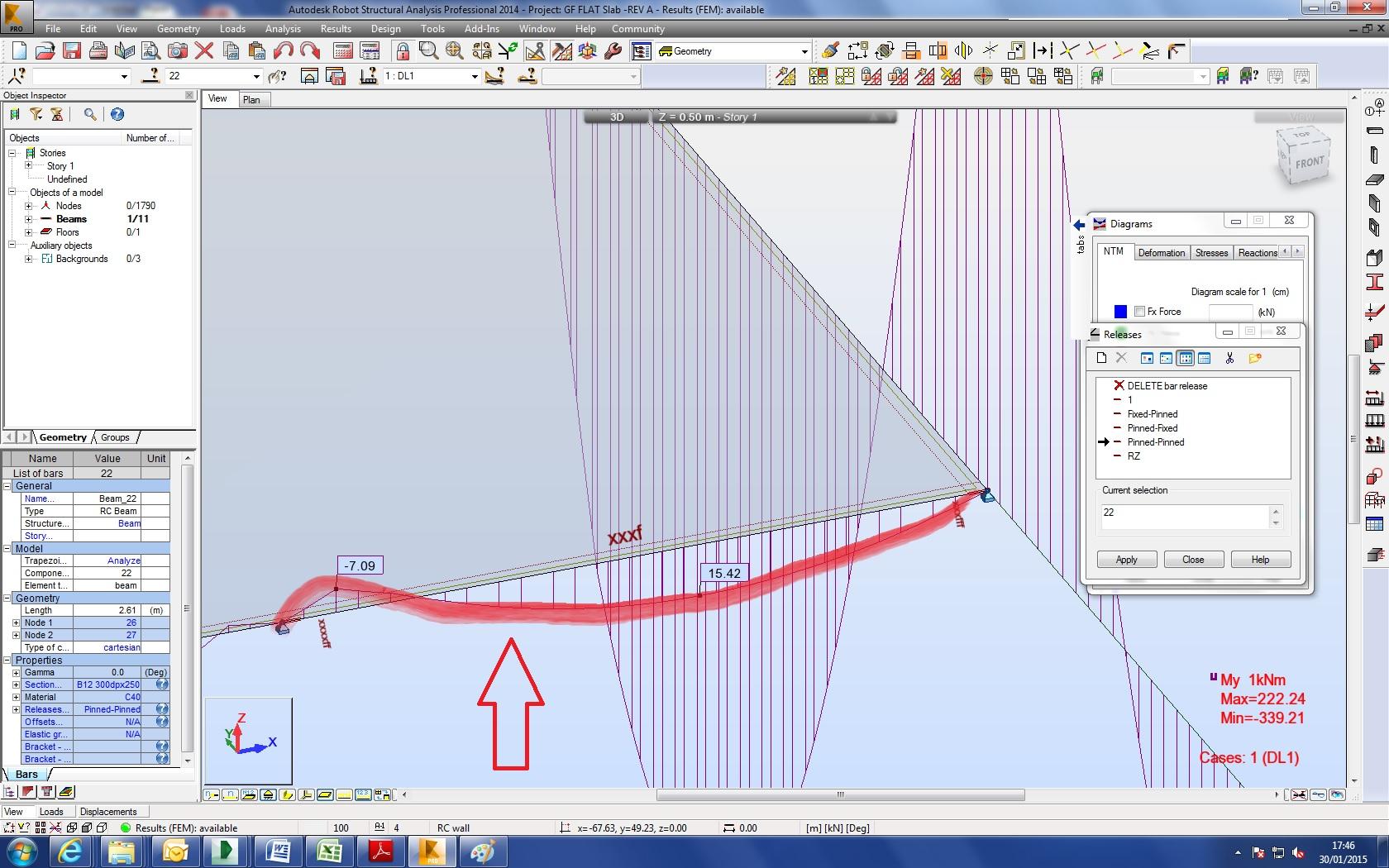 Autodesk Simulation Community Beam Moment Diagram 2