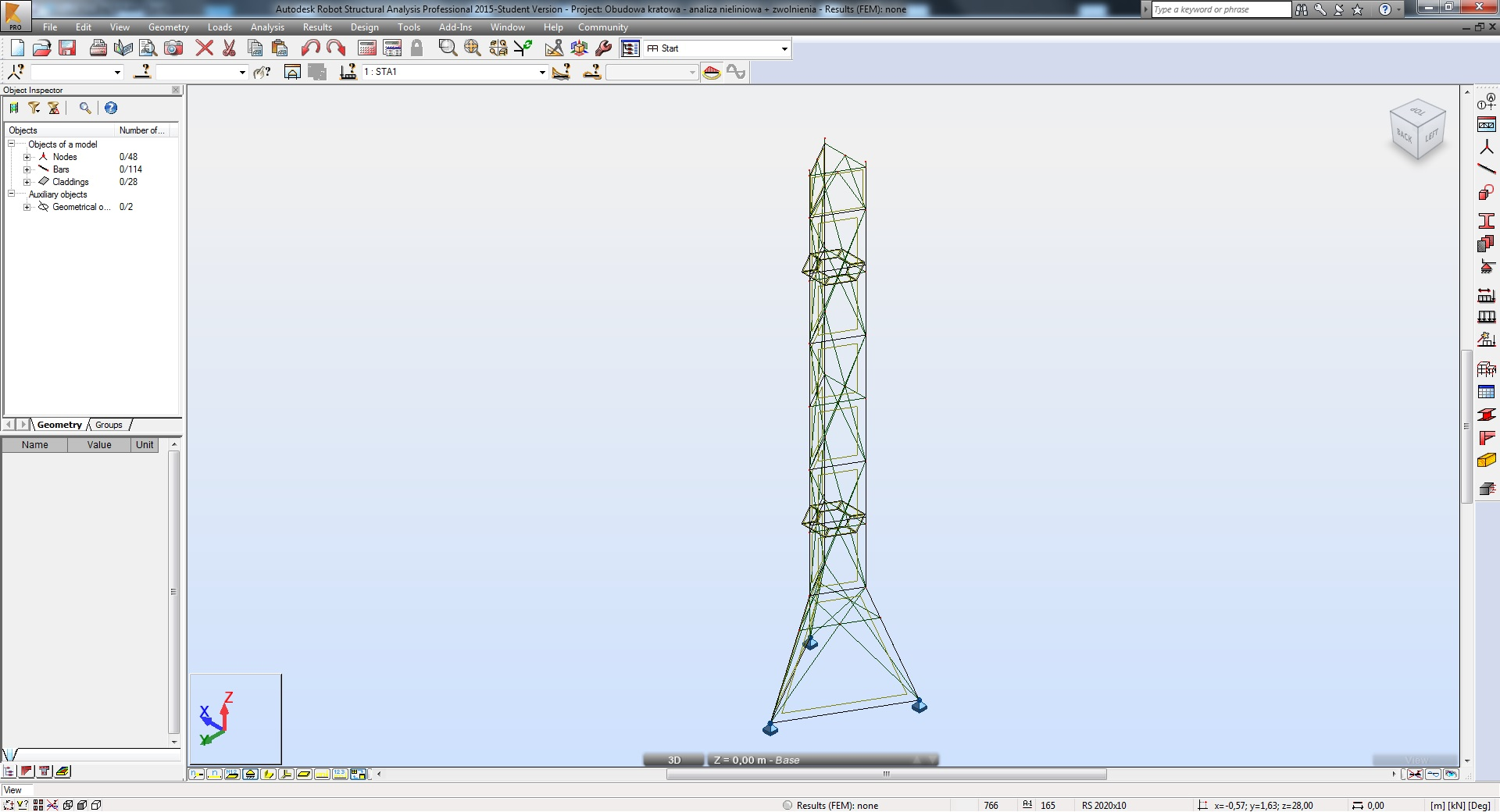 Solved: Lattice Tower - Autodesk Community- Robot Structural