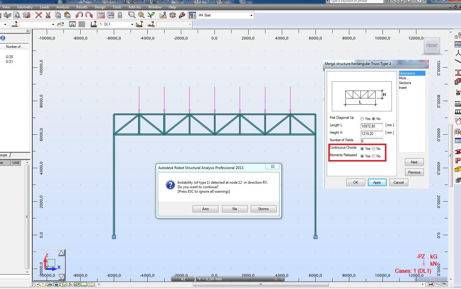 Solved: truss design - Autodesk Community- Robot Structural