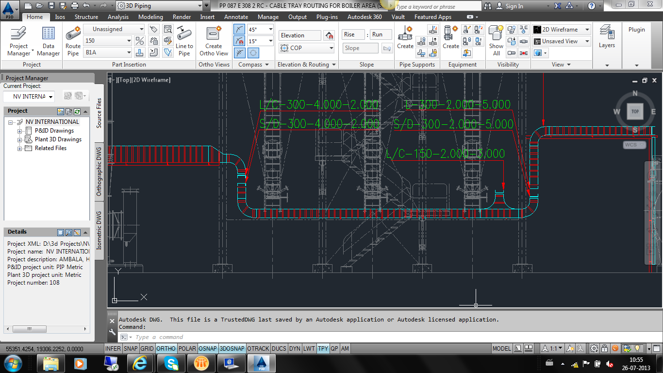 Vertical Orientation Cable Tray Not Possible In Revit Mep Autodesk
