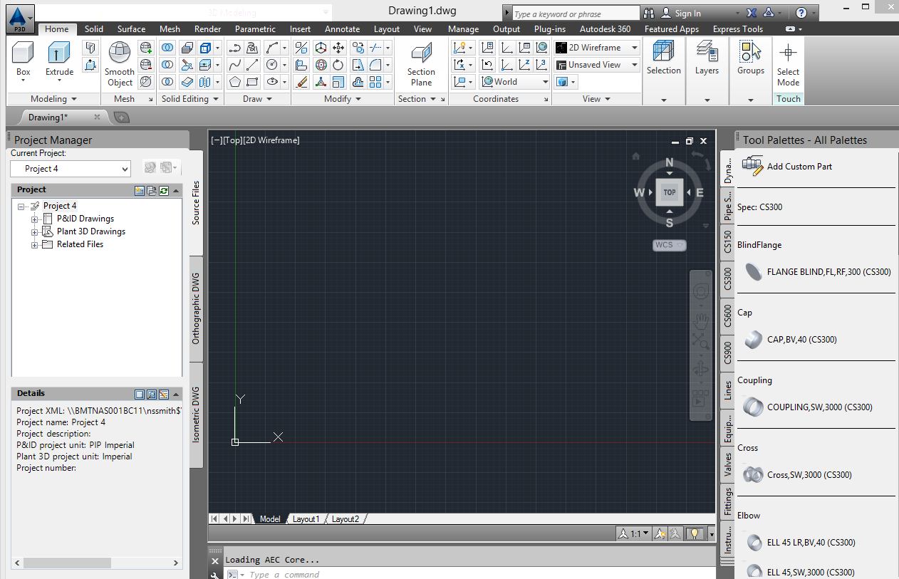 autodesk plant 3d 2014 cannot find 3d piping home tab work space ribbon autodesk community - Autoplant 3d