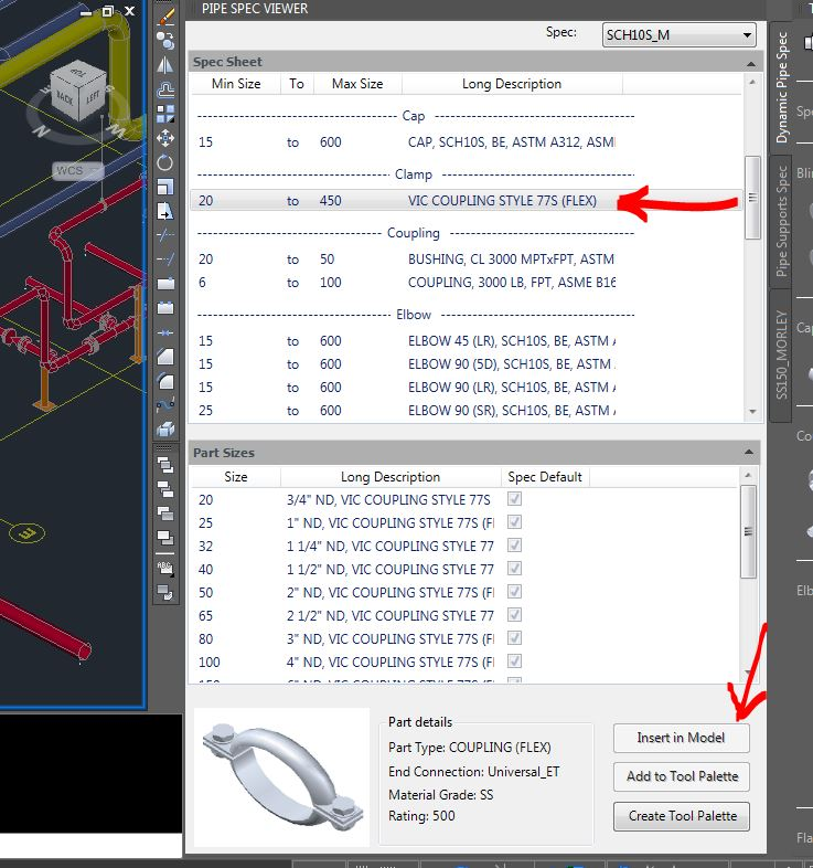 Victaulic part insertion issue - Autodesk Community- AutoCAD