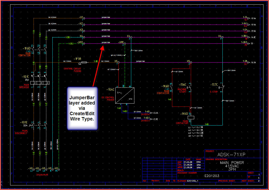 Bus Bar Format Autodesk Community Autocad Electrical