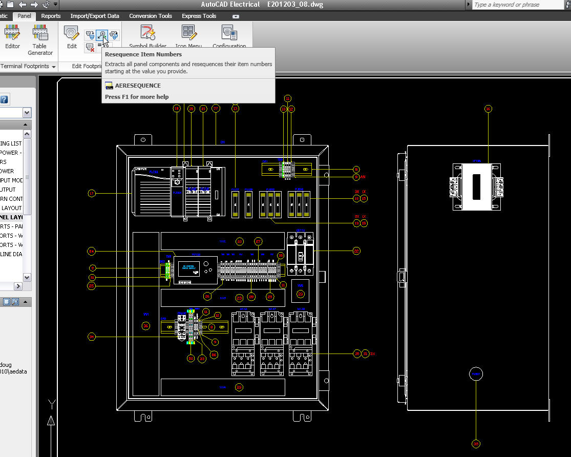 electrical drawing in autocad tutorial – the wiring diagram, Electrical drawing