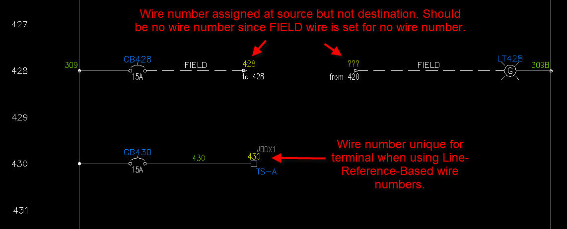 Autocad Electrical Automatic Wire Numbers Wiring Diagram