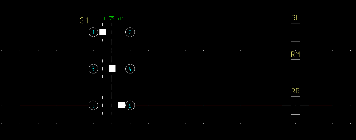 Neutral Position Of A 3 Pos Selector Switch Autodesk Community