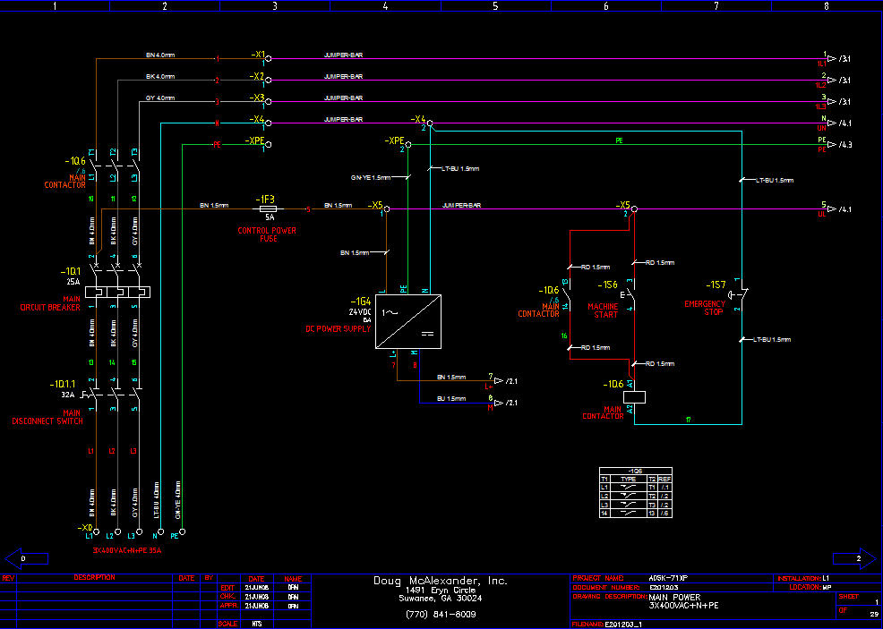 sample IEC power distribution drawing electrical drawing symbols in autocad readingrat net electrical wiring diagram symbols autocad at bakdesigns.co