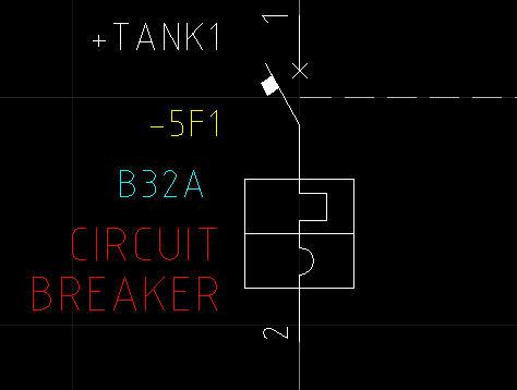 Circuit Breaker Symbol Circuit Breaker Mcb Symbol