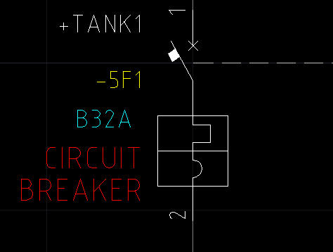 Solved Type B Miniature Circuit Breaker Mcb Symbol Autodesk