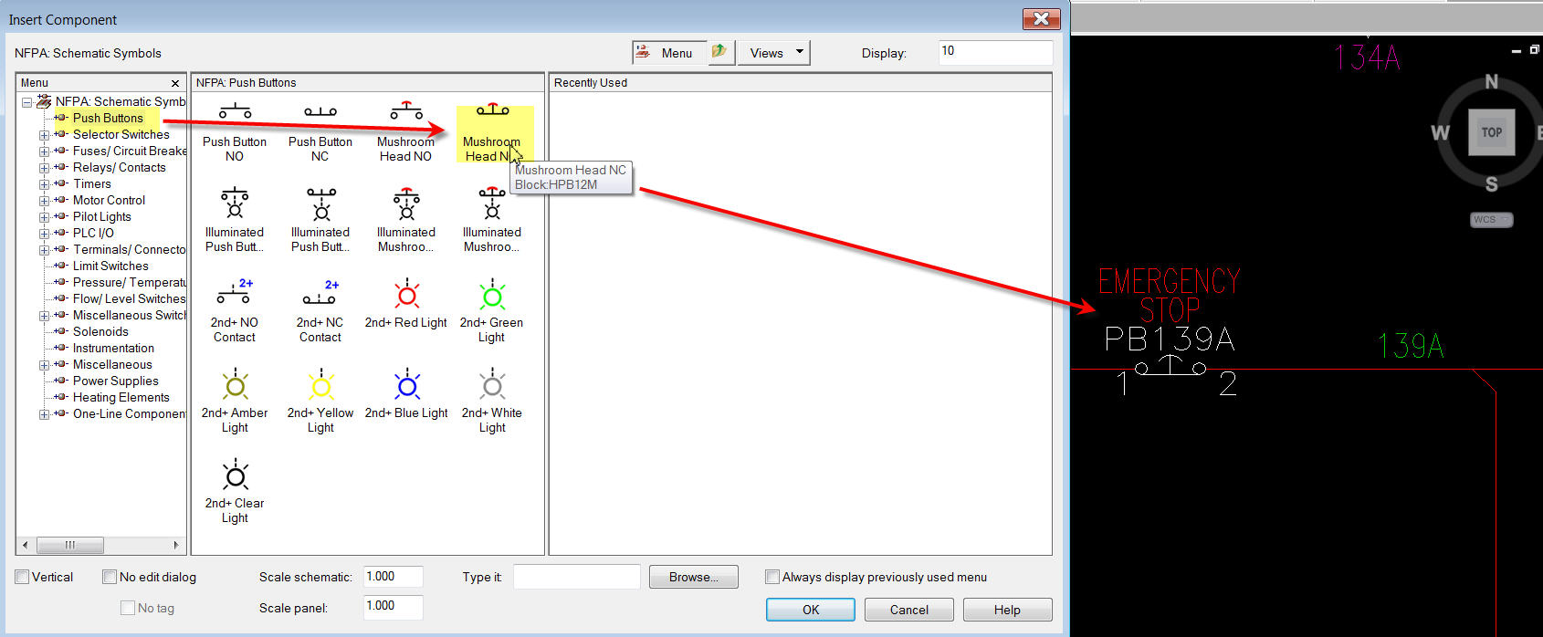 JIC EStop Buttons ... - Autodesk Community- AutoCAD Electrical