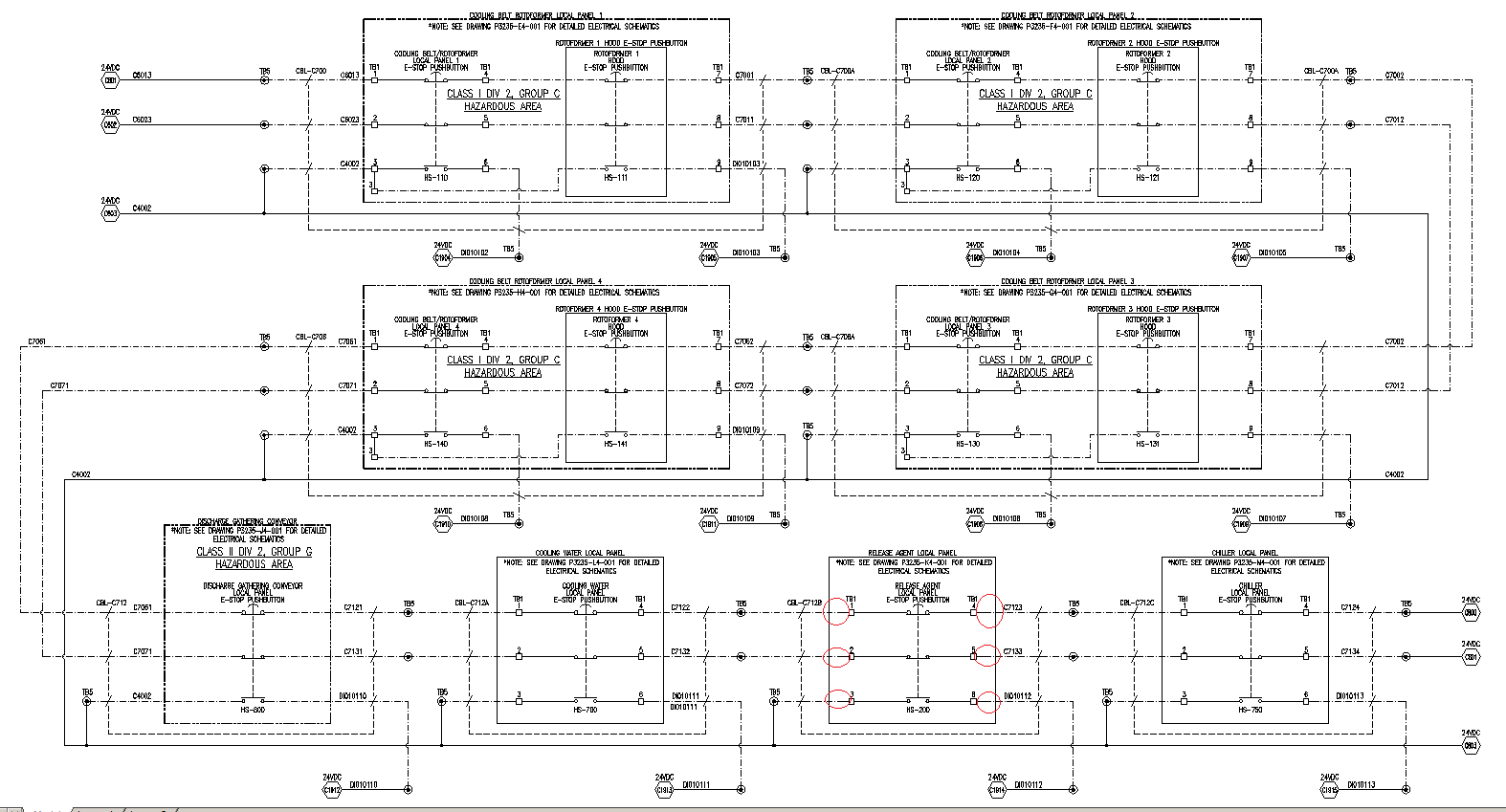 Same Component On Multiple Drawings Autodesk Community Autocad Electricalusing A 2 Pole Breaker For 120v Circuit Electrical Page