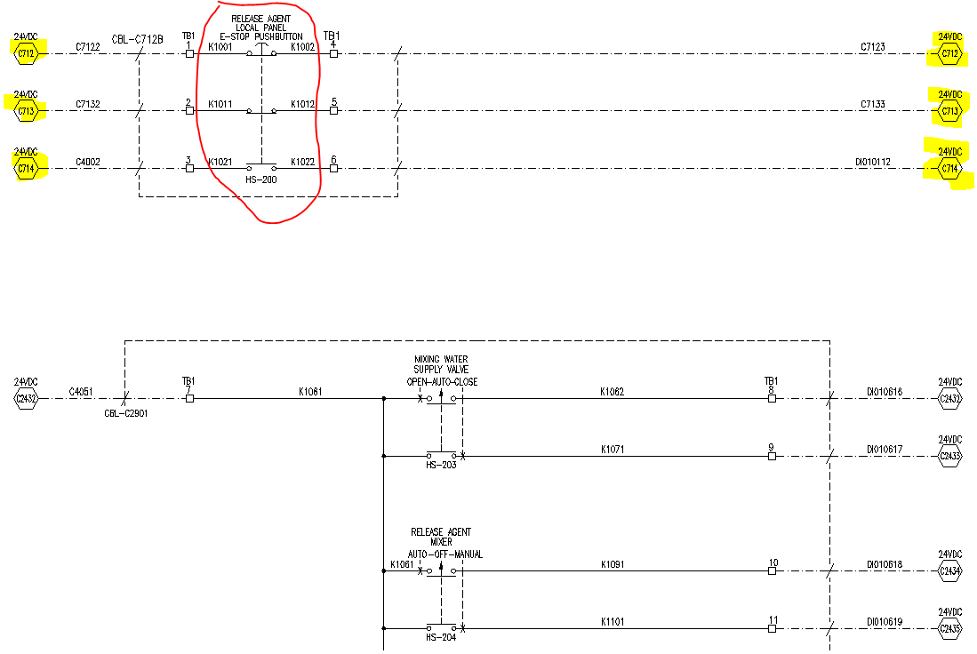 Same Component On Multiple Drawings Autodesk Community Autocad Electrical Bus Symbol Schematics What Does This Indicate